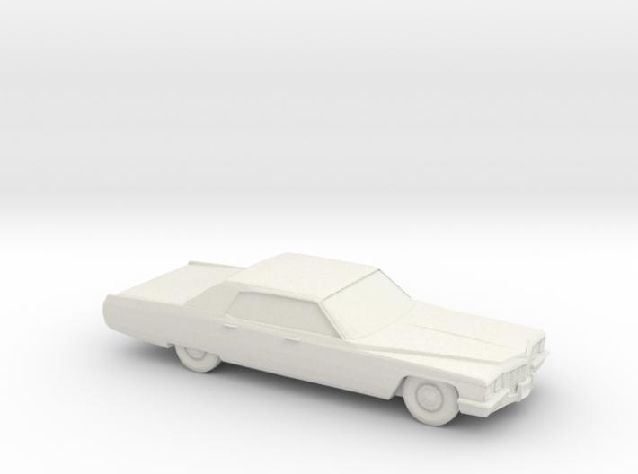 1/64 1972 Cadillac DeVille Sedan 3d printed