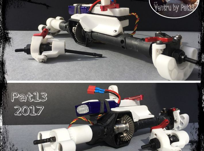 SUPPORT LEST -V4-PINEWOOD  3d printed