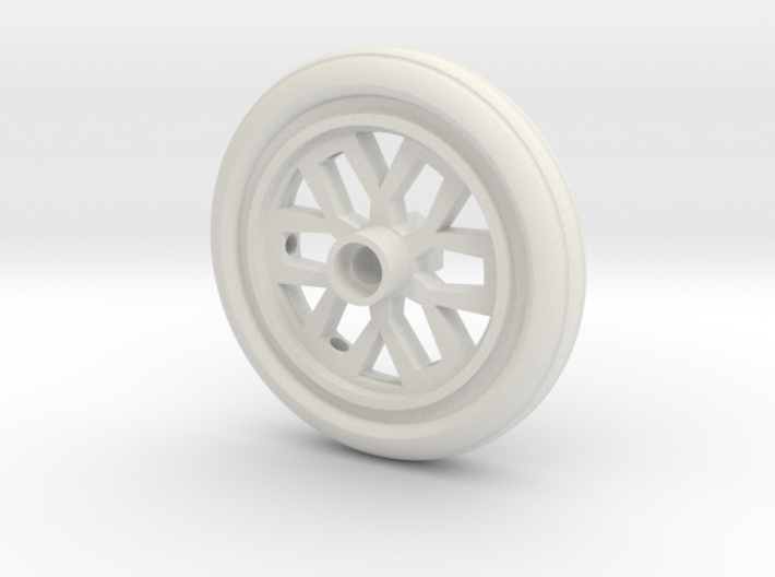 BP8 Front Wheel 12 Hex 3d printed