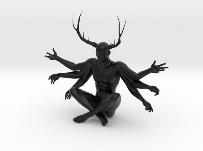 """3"""" Six Armed Stag 3d printed"""
