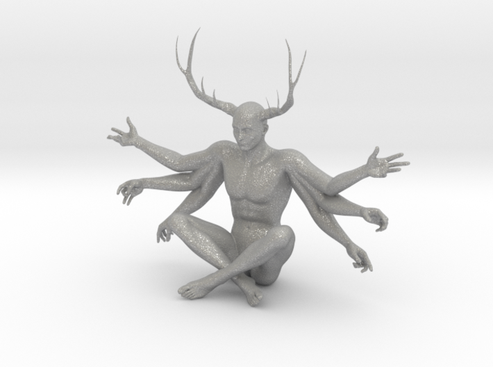 38mm Six Armed Stag 3d printed