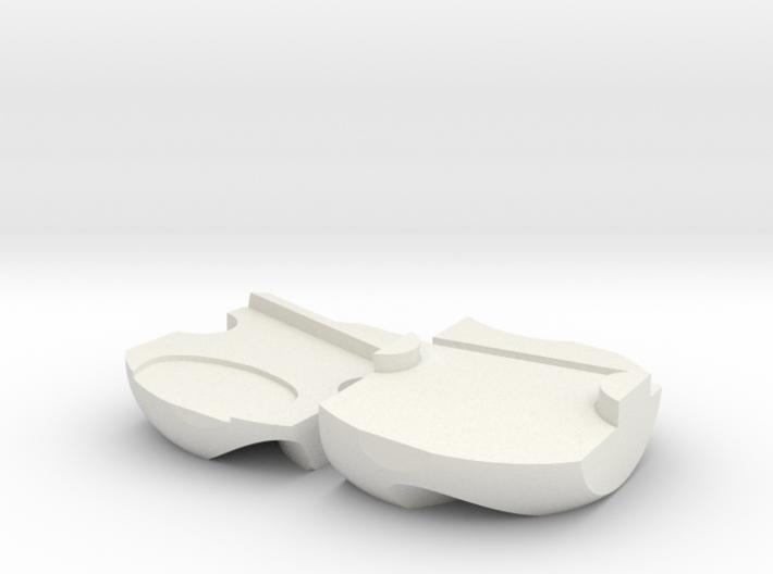 Pick holder for Hosmer 5 hook /Dunlop TORTEX picks 3d printed