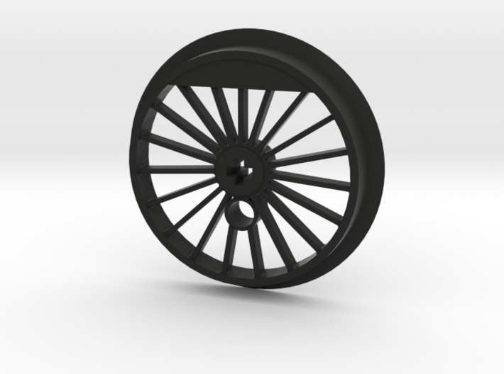 XXL Flanged Driver -19 Spokes No Tire Groove 3d printed