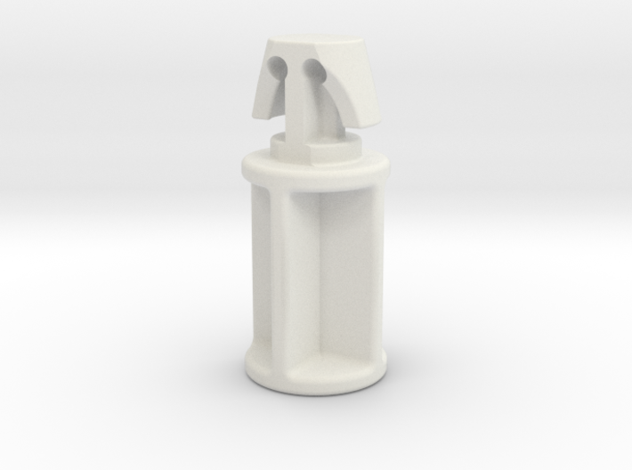 ULINE Trash Can Cover Hinge Pin 3d printed White