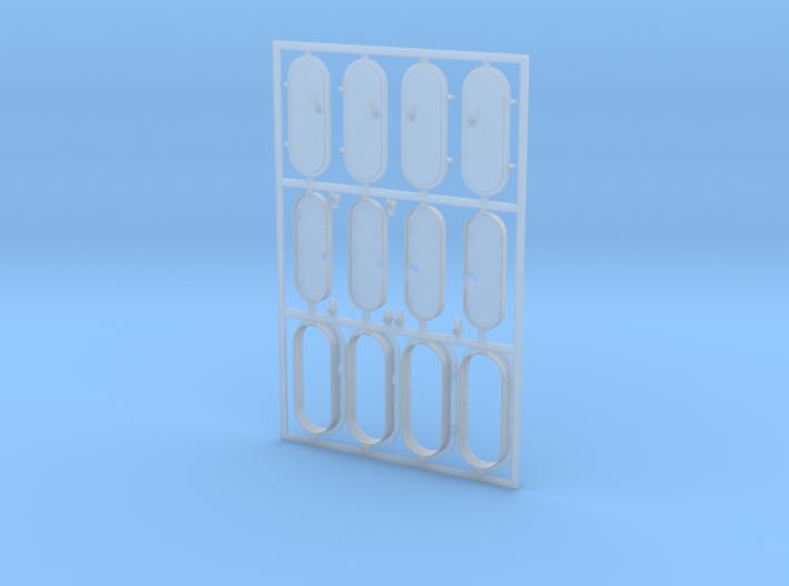 Schott Typ-A 1:40 (4 Stück - 2x Links und 2x Recht 3d printed