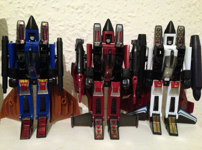 Transformers G1 Coneheads Shortened Cones 3d printed