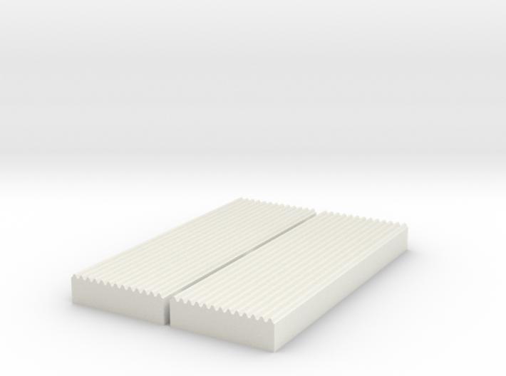 1:87 Corrugated Sheet Die - Ver3 3d printed