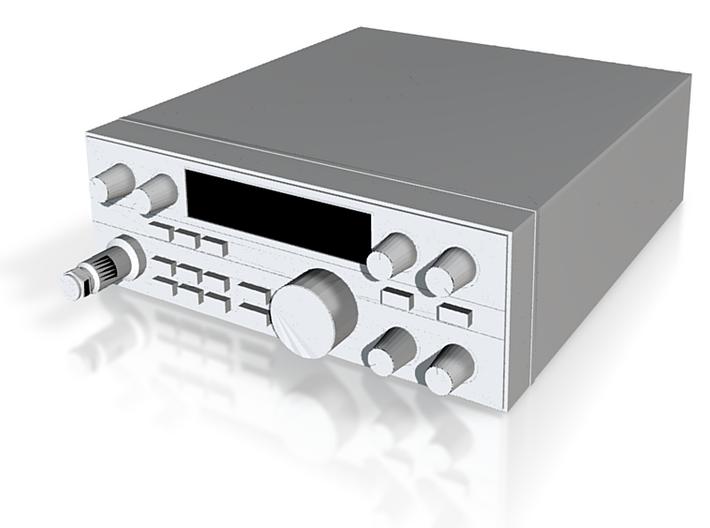 1/10 Scale HAM Radio 3d printed