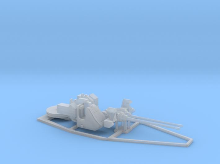 Twin 30mm Oerlikon GCM AO3 1/72 3d printed