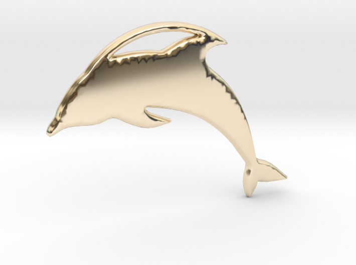 The Dolphin 3d printed