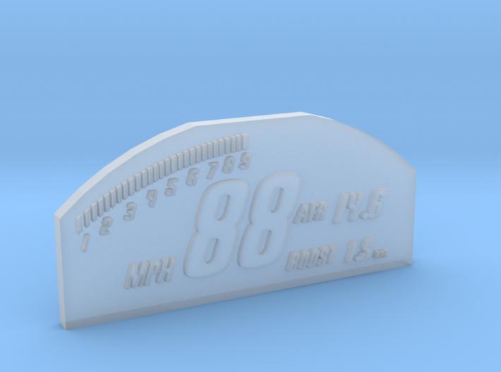 1/10 SCALE RACEPAK SCREEN 3d printed