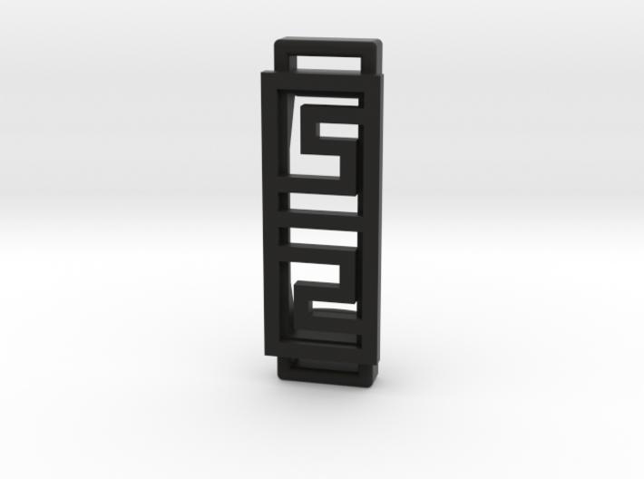 Box Pattern Clip For Fitbit Flex2- Plastic 3d printed