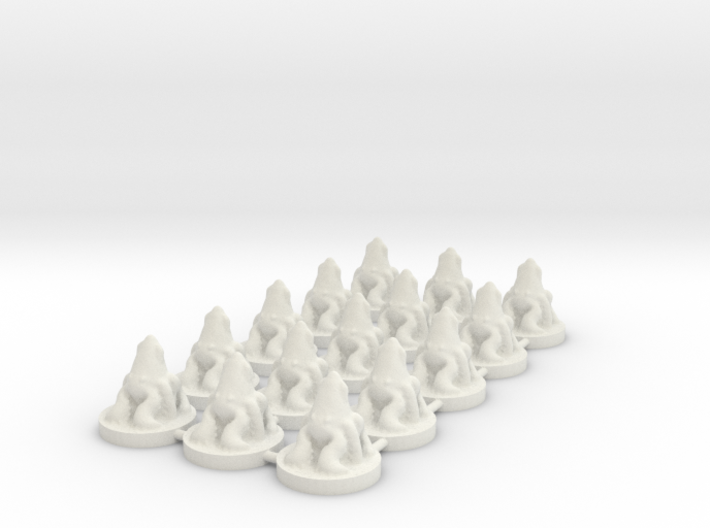 Game of Thrones Risk Pieces - Greyjoy 3d printed