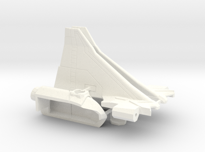 Combat Orbiter Wings and OMS Pods 3d printed