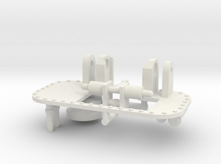 1/16 M31 Crane Parts. 3d printed