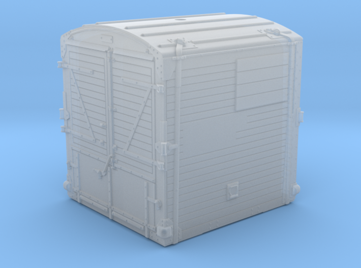 21813 BR Type A Container 3d printed