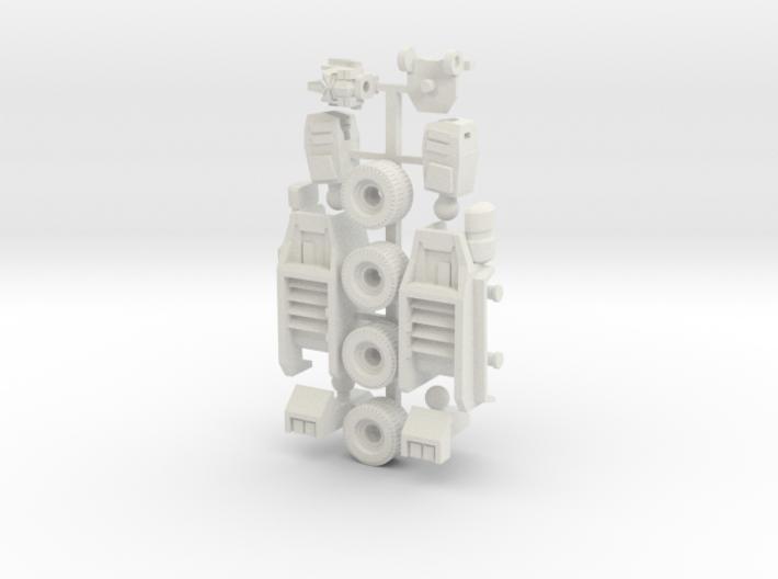 Legends Optimus Prime Upgrade Parts 3d printed