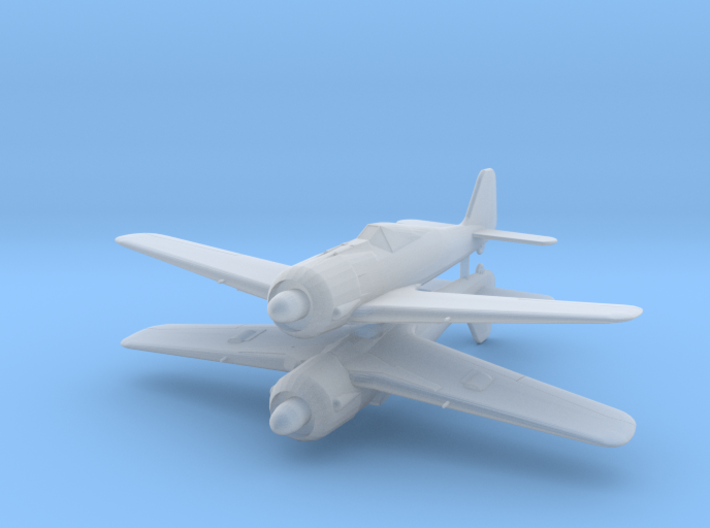 1/200 Focke-Wulf  Fw 190 A-1 Rotte (Twin pack) 3d printed