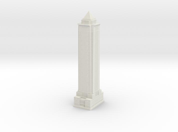 BNY Mellon Bank Building (1:2000) 3d printed