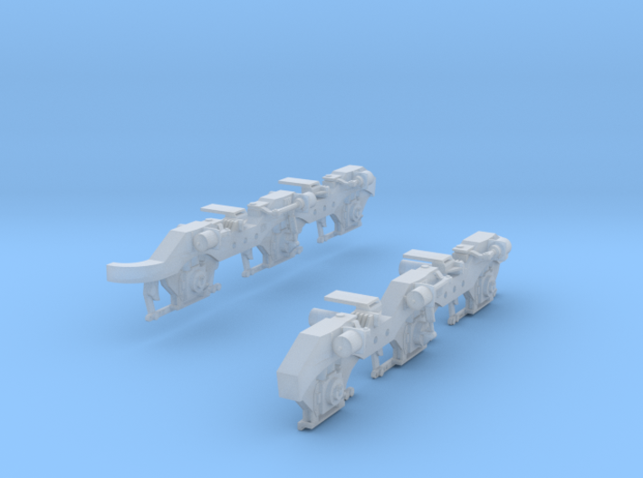 HTC 3 Cyl. Truck 3d printed