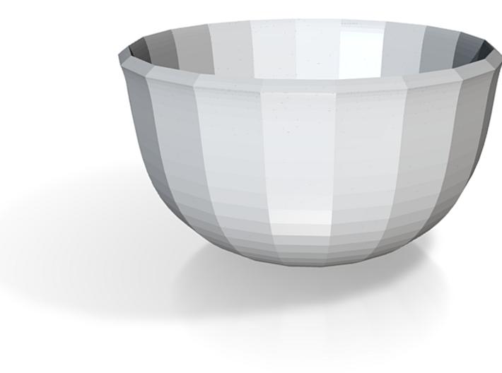 red cap bowl style 2 3d printed