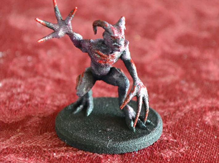 Demon Howler 3d printed Printed and Painted