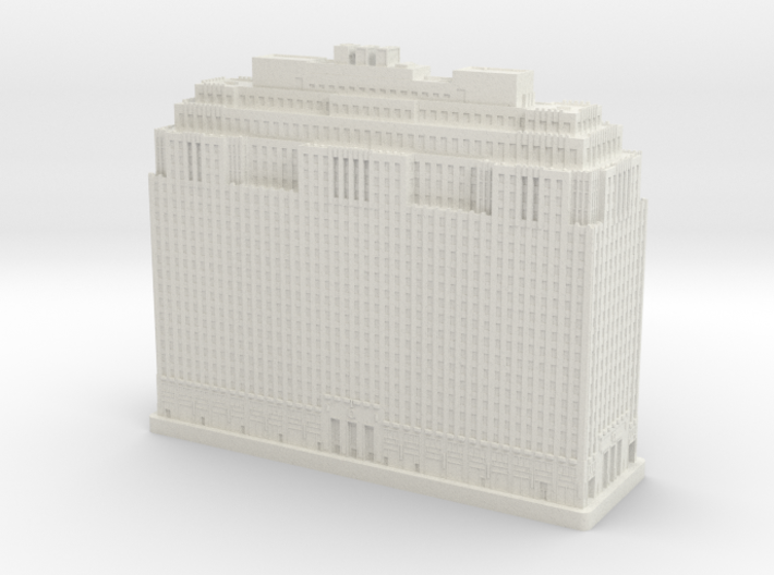 One Penn Center (1:2000) 3d printed