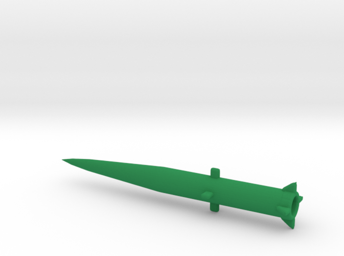 1/285 Scale MGM34 Pershing 1 Missile 3d printed