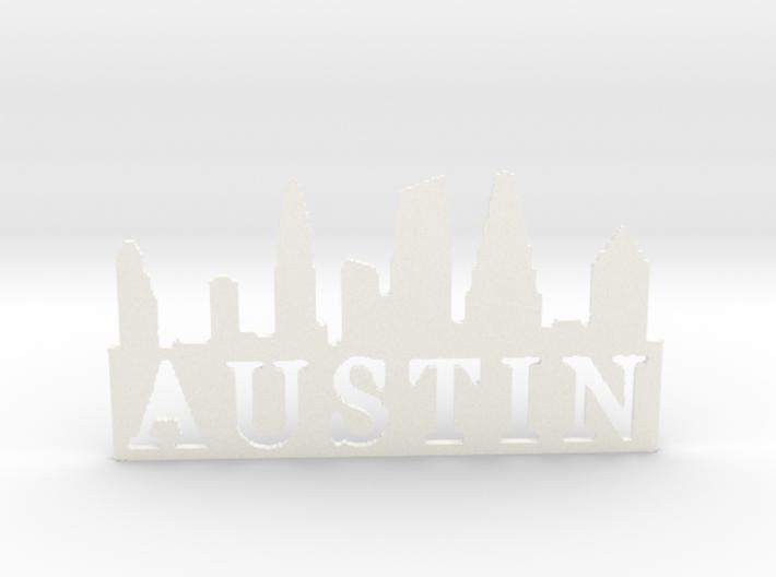 Austin Pendent 1 3d printed