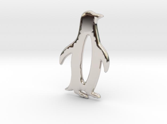 The Penguin Pendant 3d printed