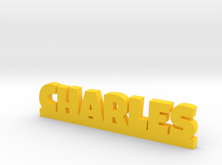 CHARLES Lucky 3d printed