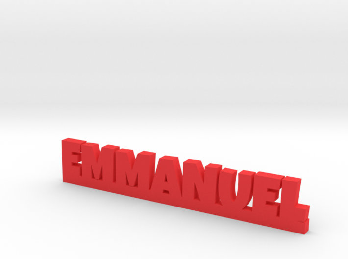 EMMANUEL Lucky 3d printed