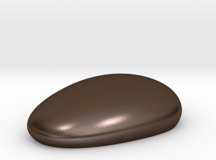Metal Pebble paperweight 3d printed