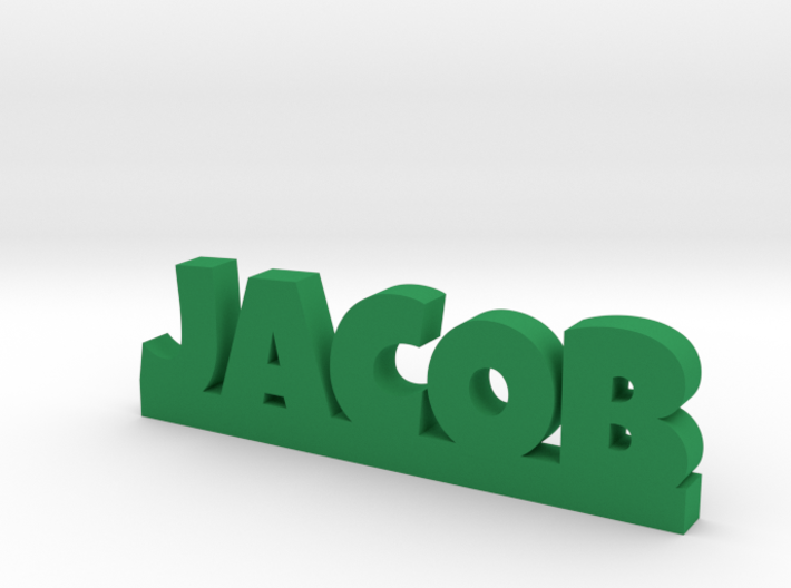 JACOB Lucky 3d printed