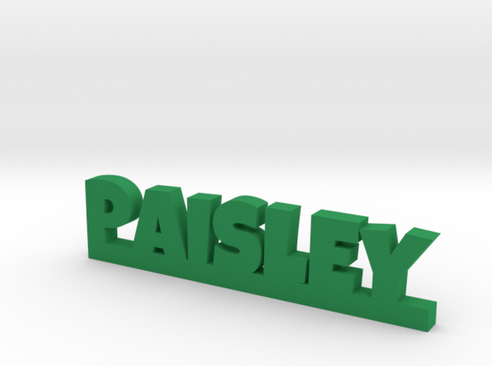 PAISLEY Lucky 3d printed