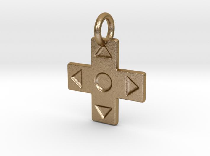 D-Pad Pendant 3d printed