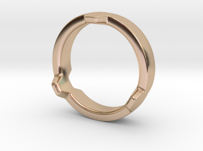 Hex 3 Ring - FAT edition 3d printed