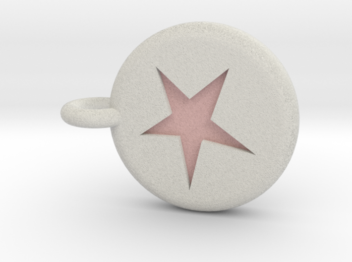 Runescape: Astral Rune Keychain 3d printed