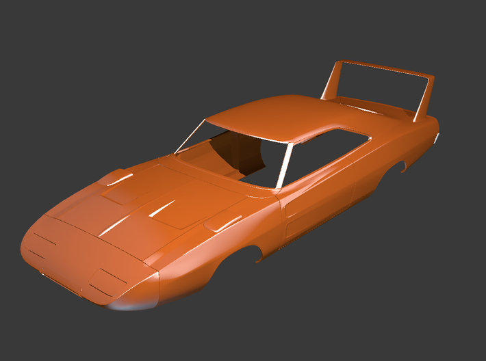 Dodge Charger 1969 Lights 3d printed