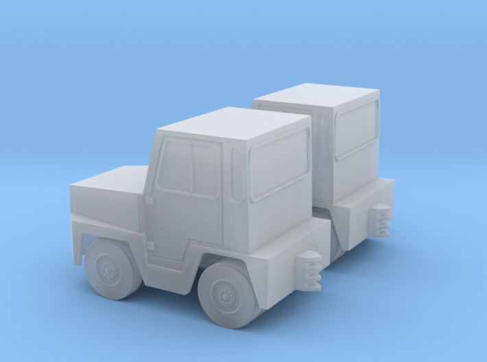 GSE Airport Baggage Tractor 1:144 2pc 3d printed