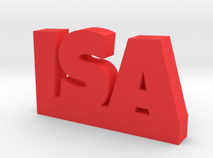 ISA Lucky 3d printed