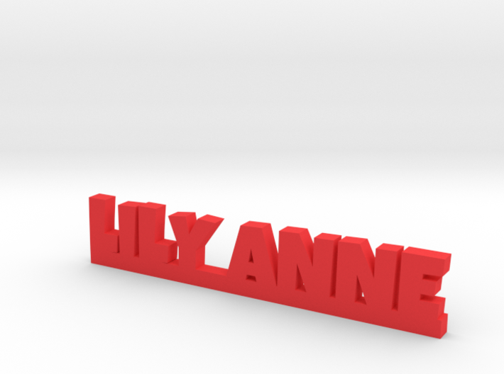LILY ANNE Lucky 3d printed