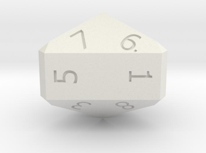 Nine-Sided Die (d9) 3d printed