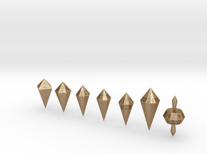 shard dice 3d printed