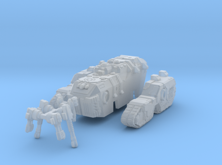6mm Maxadon Assault Vehicle 3d printed