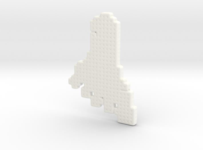 Foot Pendant 3d printed