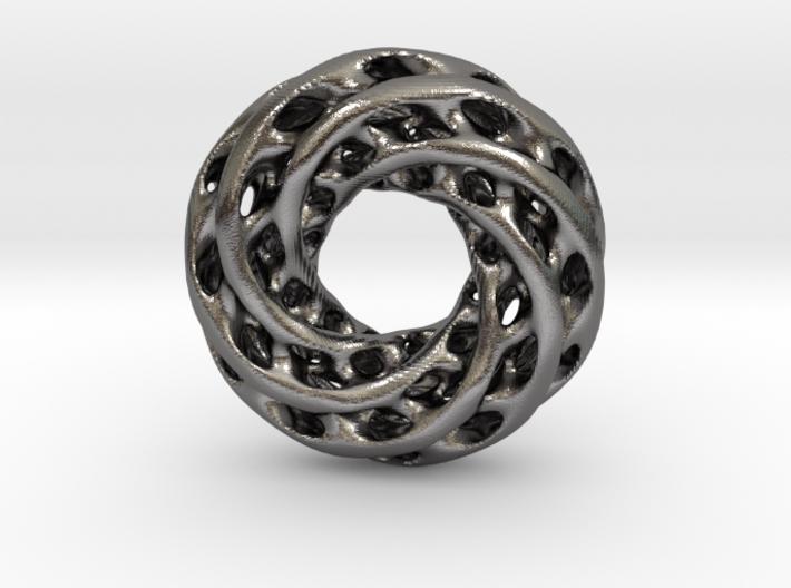 0626 IsoSurface F(x,y,z)=0 Diamond Tori [6] d=10cm 3d printed