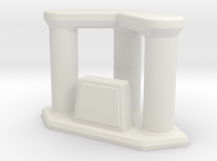 Trophy Triple Riser with your inscription 3d printed
