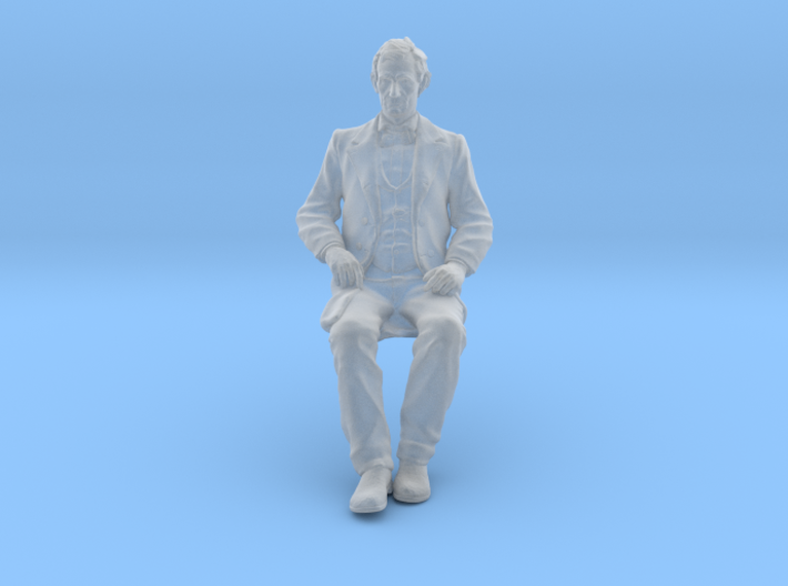 SE Young Abe Seated 3d printed