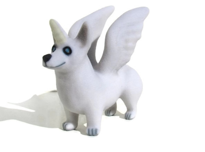 Corgi Unicorn  3d printed